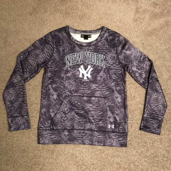 543240ff Kid's new york yankees under armor large sweater